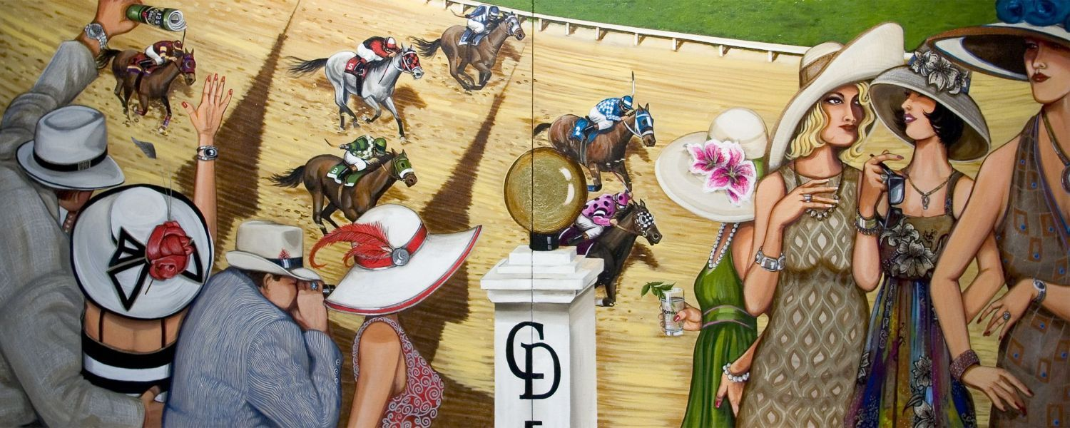 Kentucky Derby Art